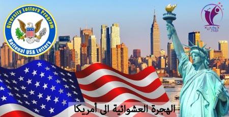 الهجرة العشوائية الى أمريكا